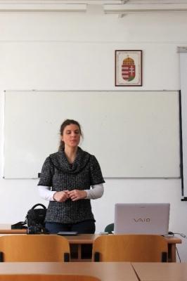 2014.04.07. GEKSZ – Szatmári Alexandra előadása