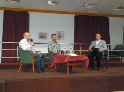 2014.04.23. Alumni portrék: Komlós Andor, Baranyai Konrád