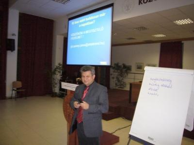 2012.11.06. Közgazdász Klub: Dr. Serényi János