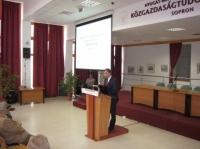 2010.05.11. Közgazdász Klub: Perkovátz Tamás