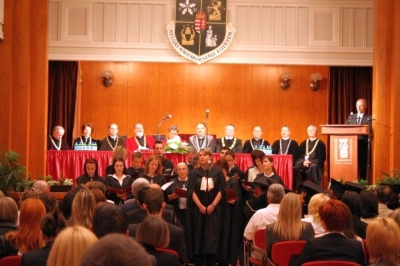 2007.06.29. Diplomaosztó ünnepség