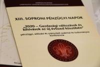2019.09.26-27. XIII. Soproni Pénzügyi Napok konferencia